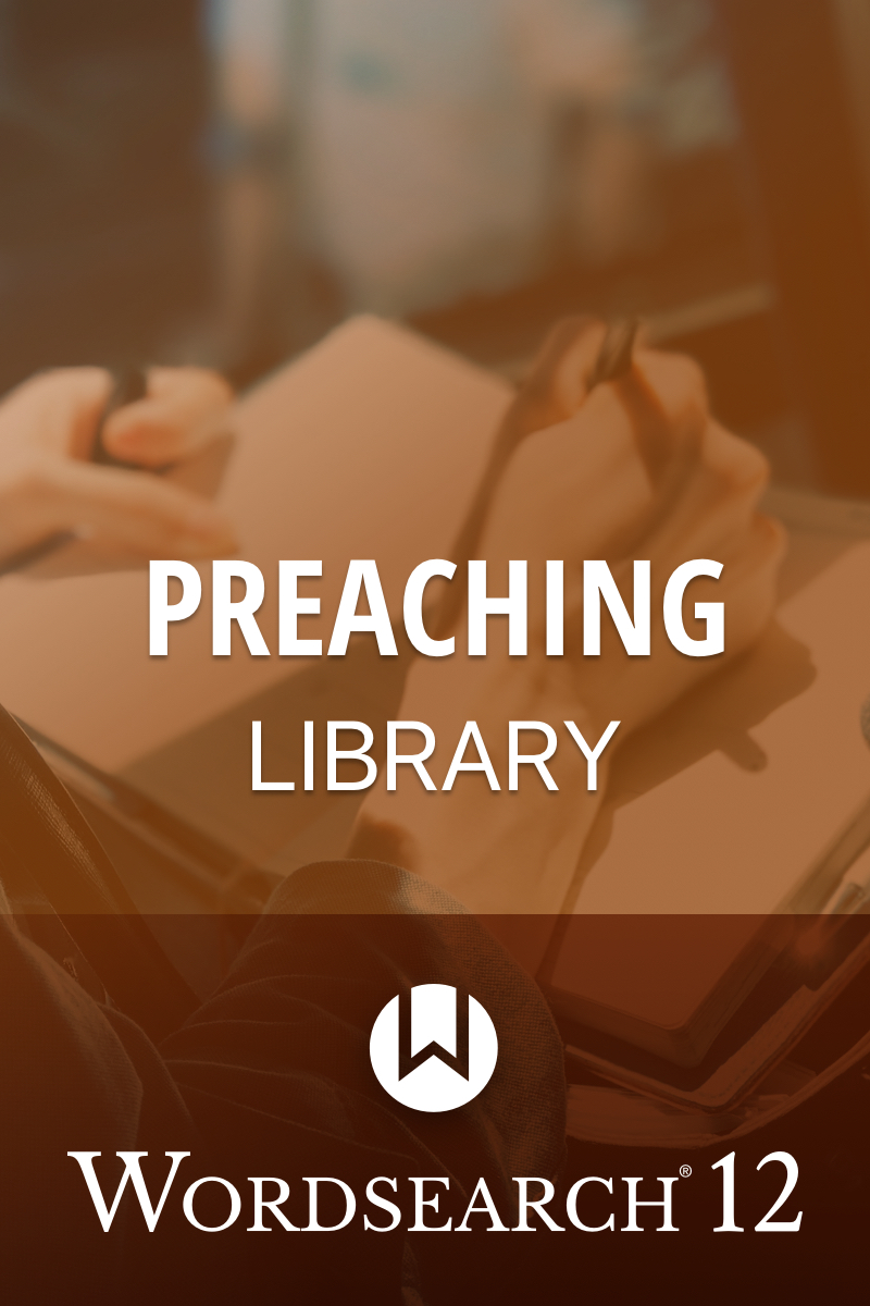 Product cover of Preaching Library