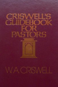 Criswell's guidebook for pastors
