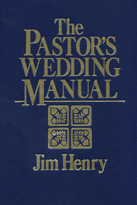 Pastorsweddingmanual
