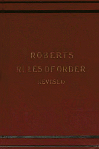 Robertsrulesorder