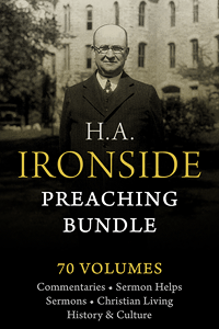 Ironside preaching bundle