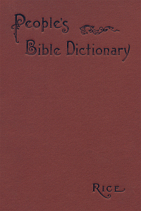 Peoplesdictbible