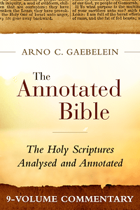 Annotated bible