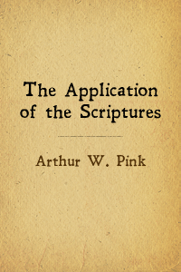 Application scriptures cover