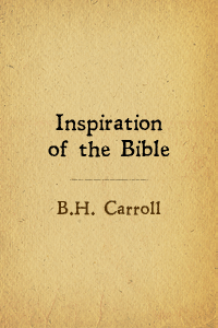 Inspiration bible carroll