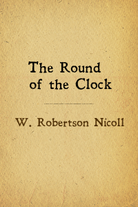 Round of clock cover