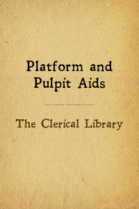 Clerical lib pulpit aids