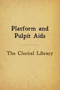 Clerical lib pulpit aids