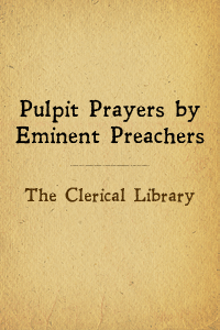 Pulpitprayers