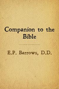 Companion bible cover