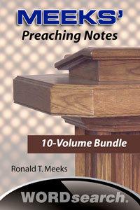 Meekspreachingnotes