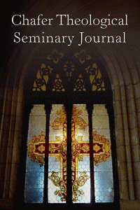 Chafertheologicalseminaryjournal