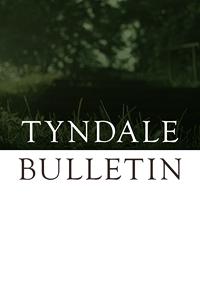 Tyndale bulletin