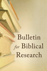 Bulletinbiblicalresearch