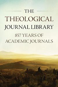 Theologicaljournallibrary