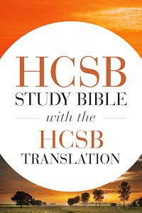 HCSB Study Bible with the HCSB Translation - Wordsearch